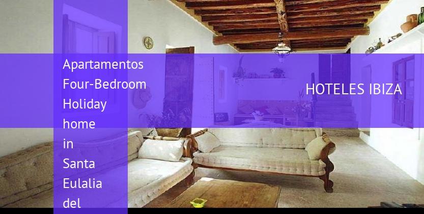 Apartamentos Four-Bedroom Holiday home in Santa Eulalia del Río with Garden reverva