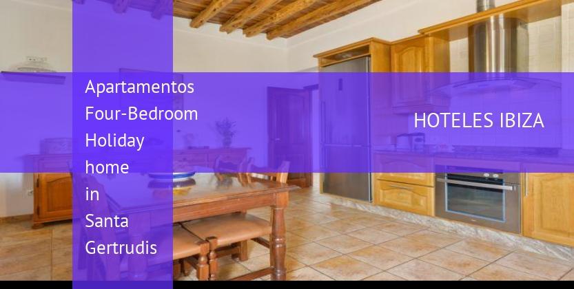 Apartamentos Four-Bedroom Holiday home in Santa Gertrudis barato