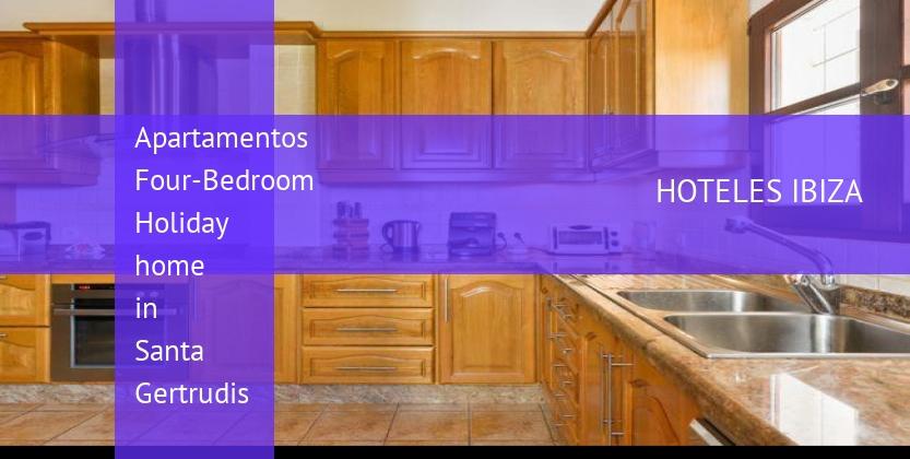 Apartamentos Four-Bedroom Holiday home in Santa Gertrudis opiniones