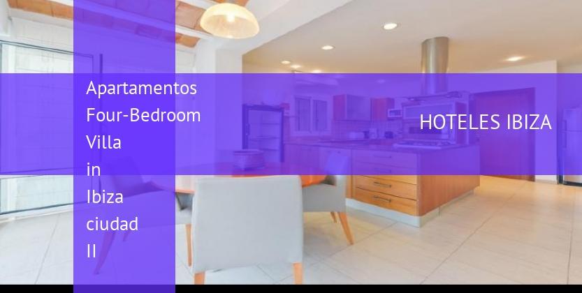 Apartamentos Four-Bedroom Villa in Ibiza ciudad II barato