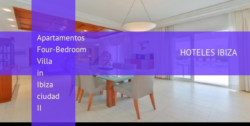 Apartamentos Four-Bedroom Villa in Ibiza ciudad II baratos