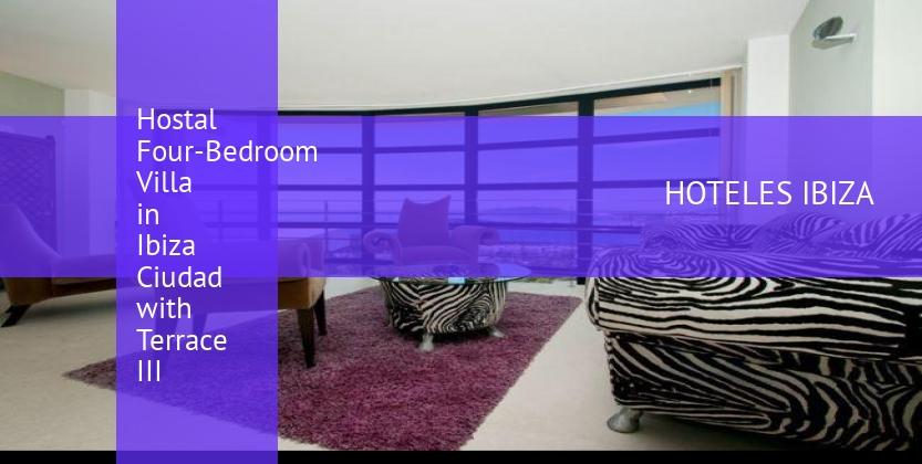 Hostal Four-Bedroom Villa in Ibiza Ciudad with Terrace III barato