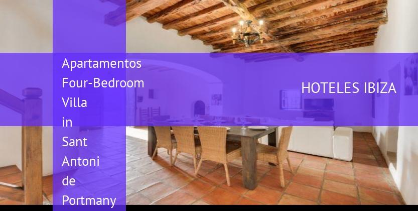 Apartamentos Four-Bedroom Villa in Sant Antoni de Portmany / San Antonio with Valley