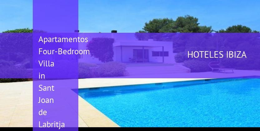 Apartamentos Four-Bedroom Villa in Sant Joan de Labritja / San Juan with Terrace reservas
