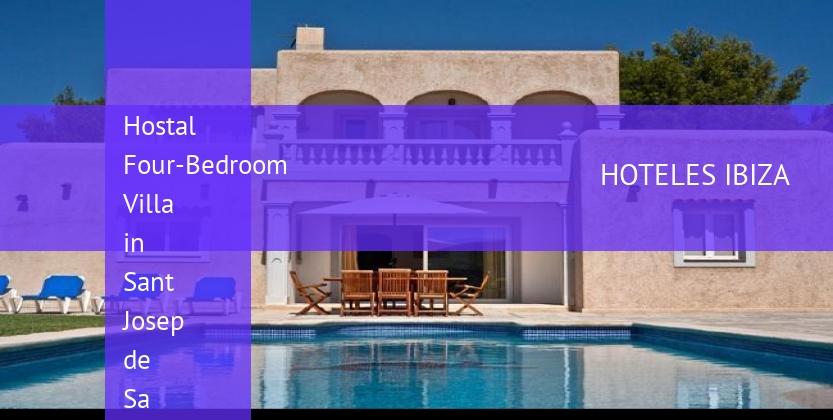 Hostal Four-Bedroom Villa in Sant Josep de Sa Talaia / San Jose with Garden booking