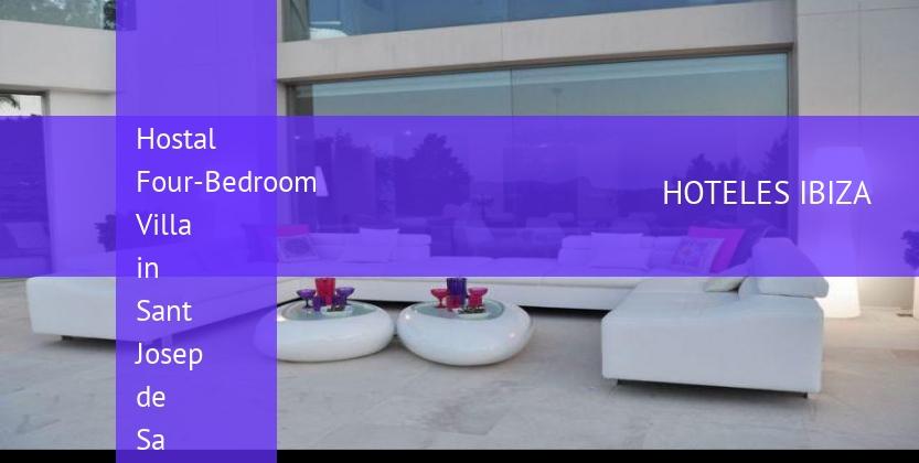 Hostal Four-Bedroom Villa in Sant Josep de Sa Talaia / San Jose with Mountain View booking