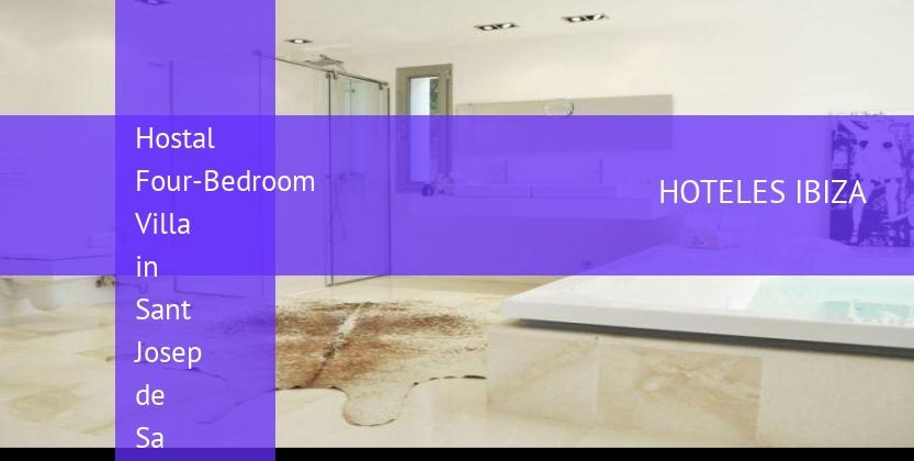 Hostal Four-Bedroom Villa in Sant Josep de Sa Talaia / San Jose with Mountain View reservas