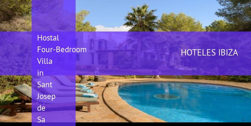 Hostal Four-Bedroom Villa in Sant Josep de Sa Talaia / San Jose with Pool II booking