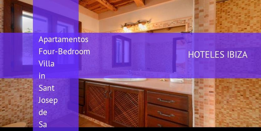 Apartamentos Four-Bedroom Villa in Sant Josep de Sa Talaia with Terrace II