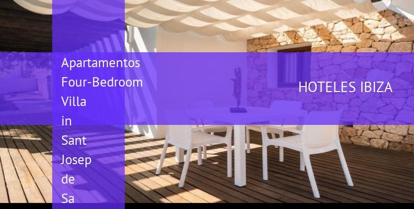 Apartamentos Four-Bedroom Villa in Sant Josep de Sa Talaia barato