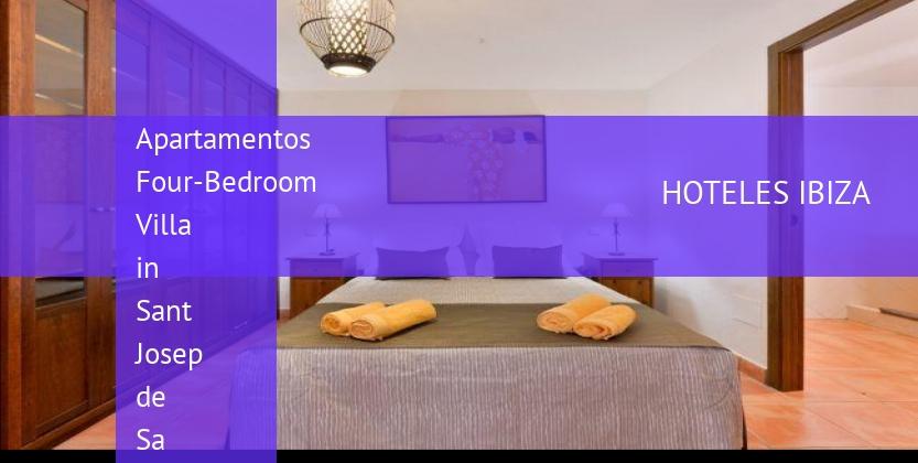 Apartamentos Four-Bedroom Villa in Sant Josep de Sa Talaia opiniones