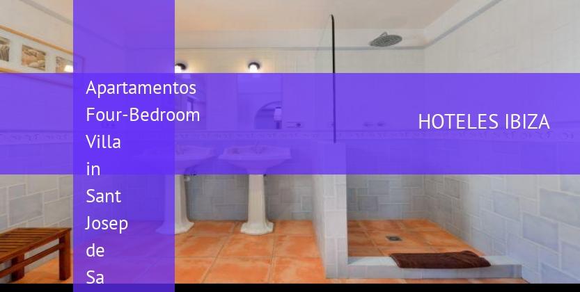 Apartamentos Four-Bedroom Villa in Sant Josep de Sa Talaia reverva