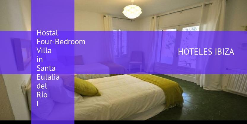 Hostal Four-Bedroom Villa in Santa Eulalia del Río I barato