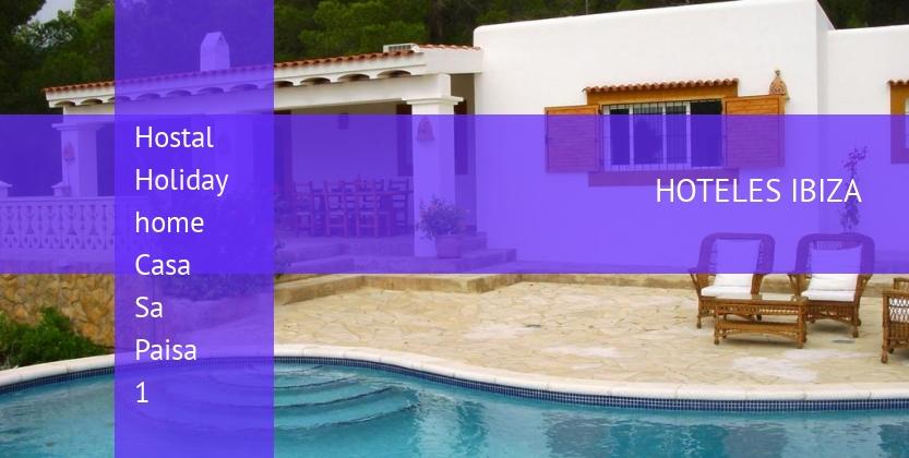 Hostal Holiday home Casa Sa Paisa 1 reverva