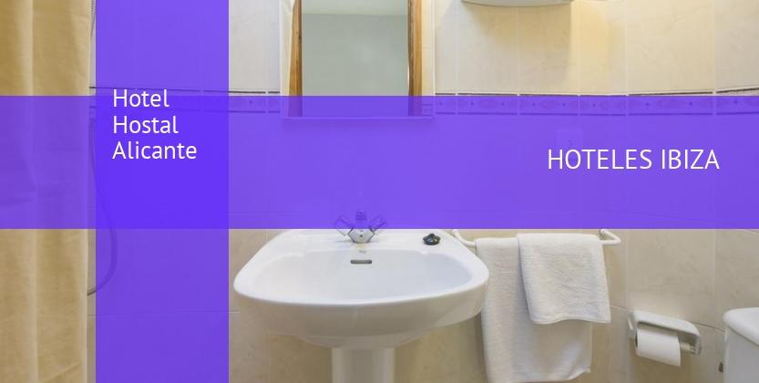 Hotel Hostal Alicante baratos