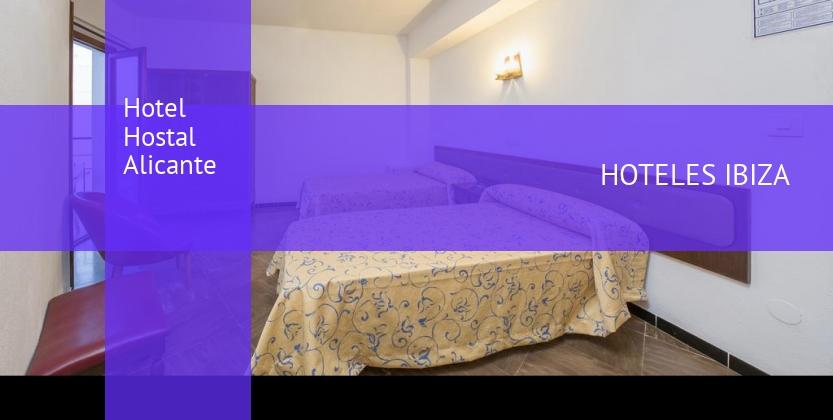 Hotel Hostal Alicante opiniones