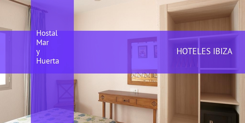 Hostal Mar y Huerta booking