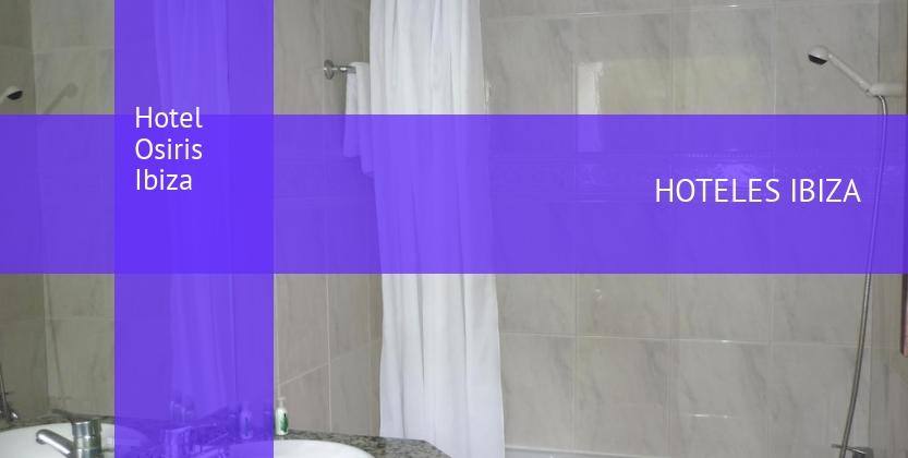 Hotel Osiris Ibiza barato