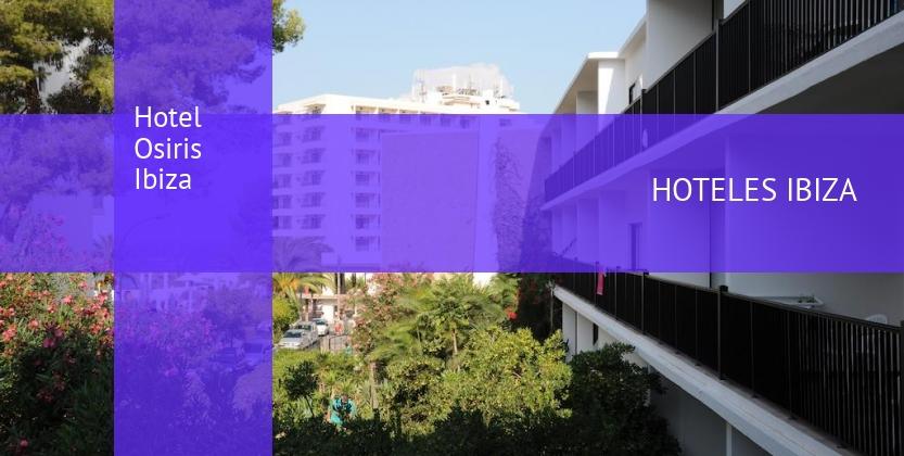 Hotel Osiris Ibiza baratos