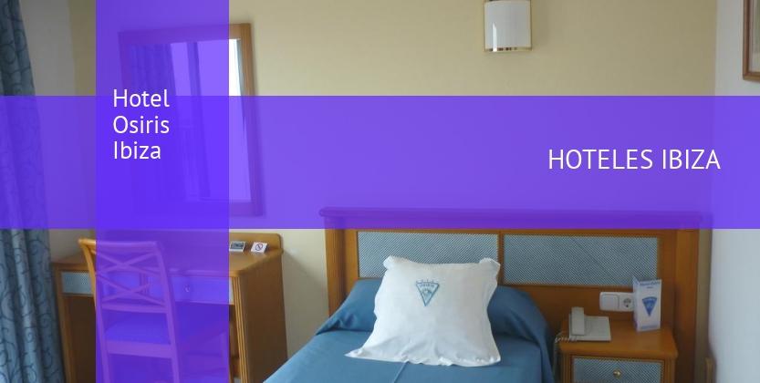 Hotel Osiris Ibiza opiniones