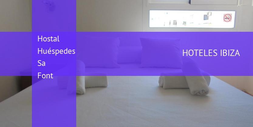 Hostal Huéspedes Sa Font booking