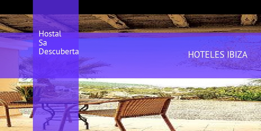Hostal Sa Descuberta booking