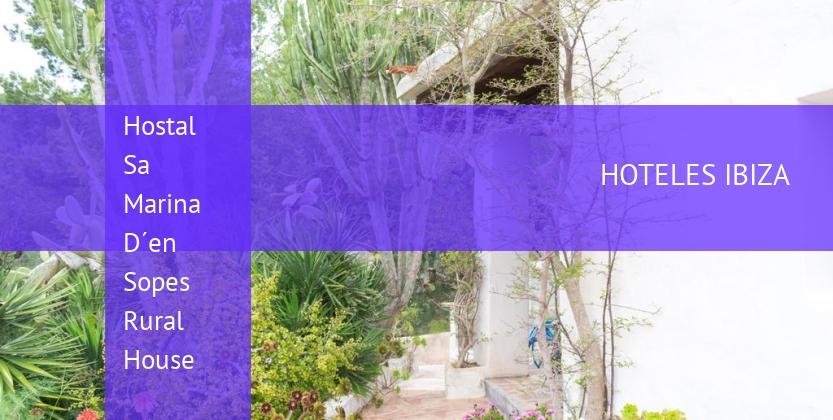 Hostal Sa Marina D´en Sopes Rural House baratos
