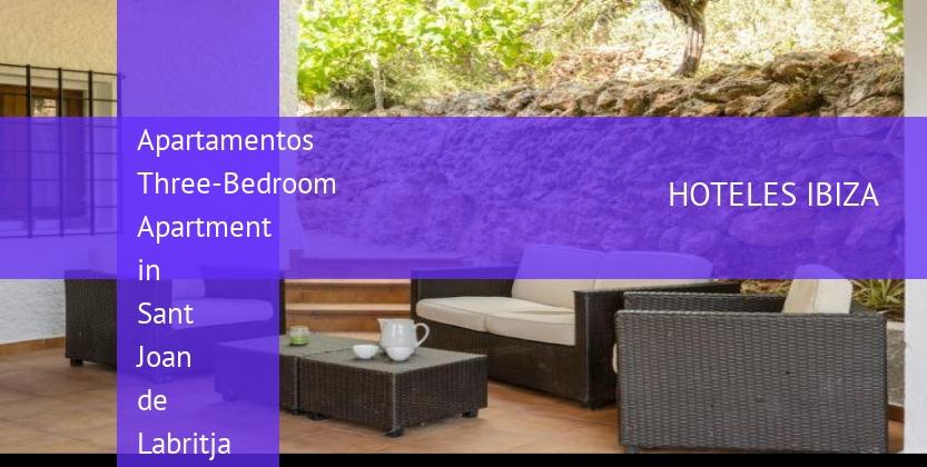 Apartamentos Three-Bedroom Apartment in Sant Joan de Labritja / San Juan reservas