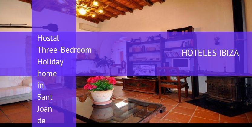Hostal Three-Bedroom Holiday home in Sant Joan de Labritja / San Juan barato