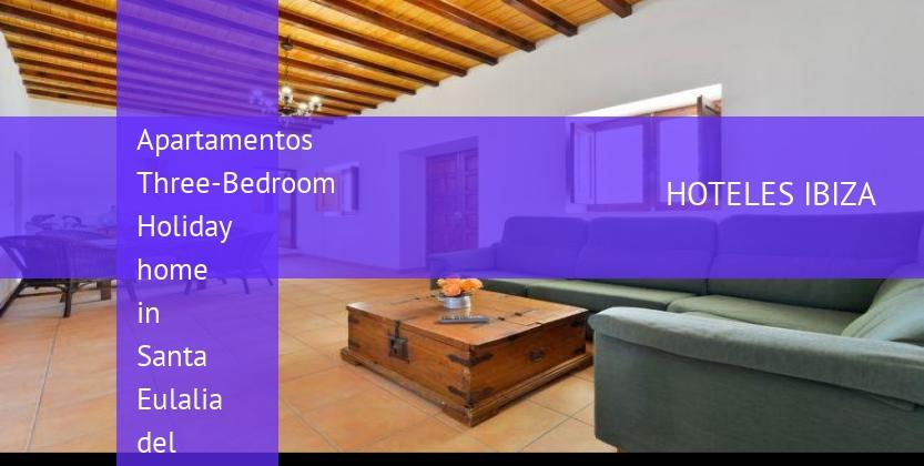 Apartamentos Three-Bedroom Holiday home in Santa Eulalia del Río with Pool III