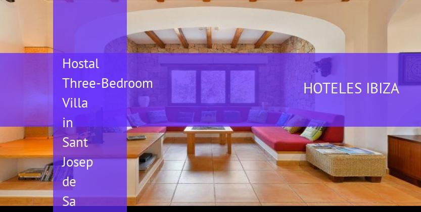 Hostal Three-Bedroom Villa in Sant Josep de Sa Talaia / San Jose reverva