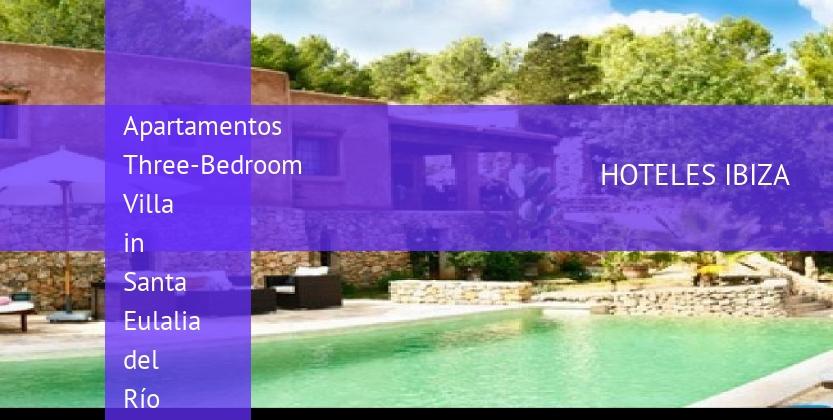 Apartamentos Three-Bedroom Villa in Santa Eulalia del Río with Garden baratos