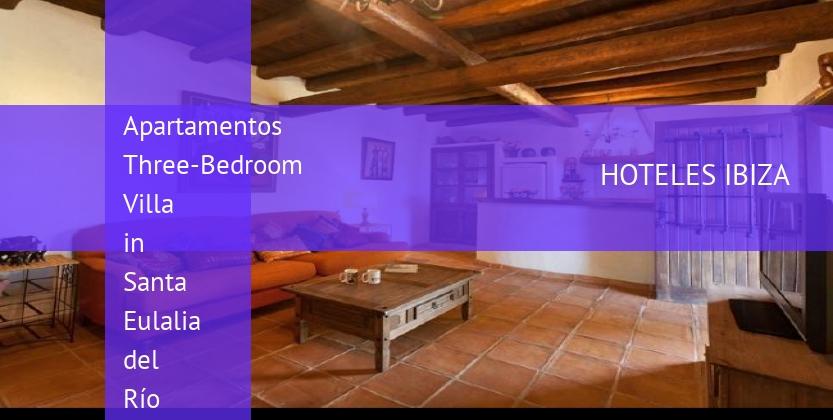 Apartamentos Three-Bedroom Villa in Santa Eulalia del Río with Garden booking