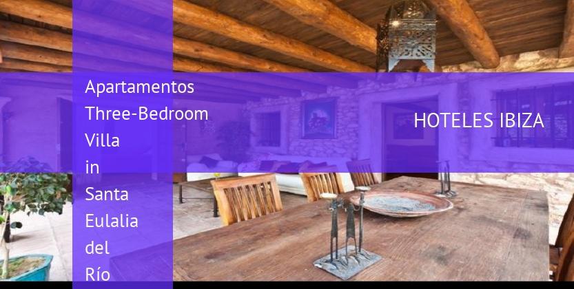 Apartamentos Three-Bedroom Villa in Santa Eulalia del Río with Garden opiniones