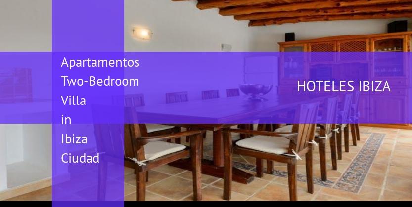 Apartamentos Two-Bedroom Villa in Ibiza Ciudad booking