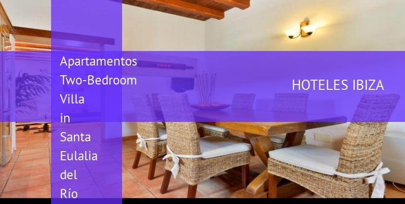 Apartamentos Two-Bedroom Villa in Santa Eulalia del Río barato