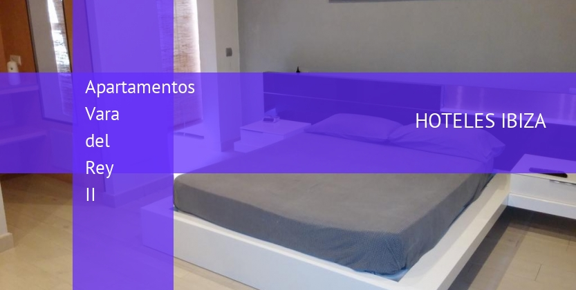Apartamentos Vara del Rey II reservas