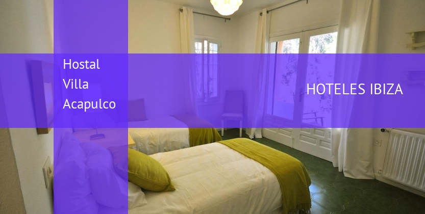 Hostal Villa Acapulco booking
