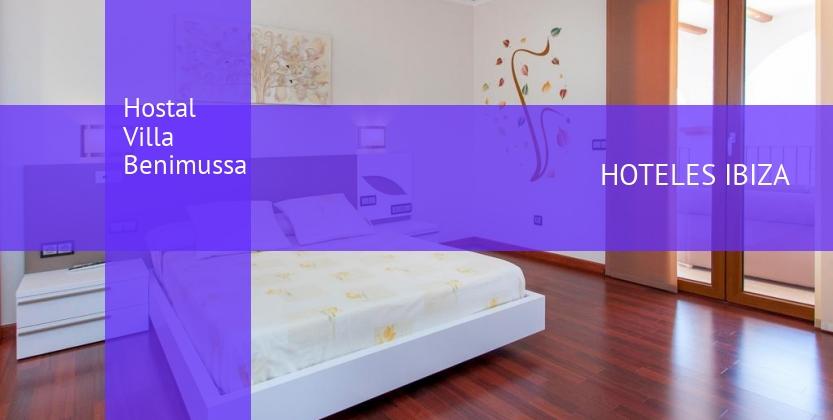 Hostal Villa Benimussa barato
