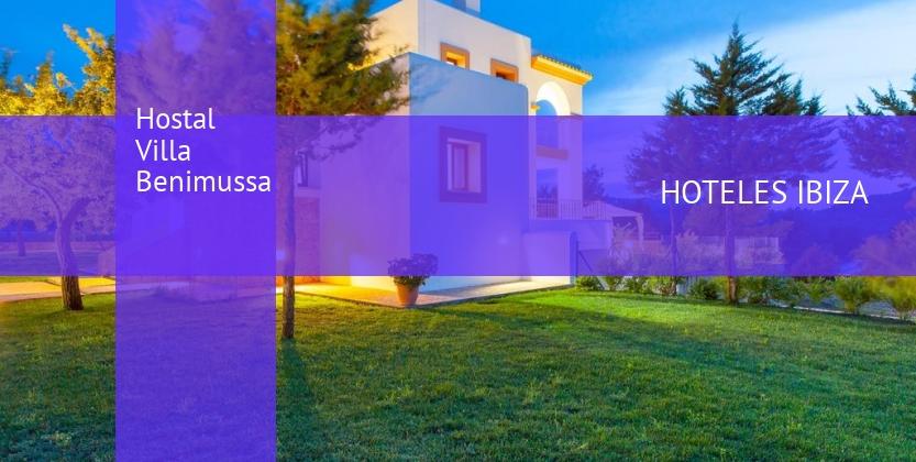 Hostal Villa Benimussa reservas