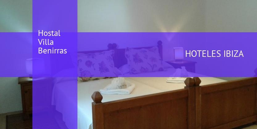 Hostal Villa Benirras barato