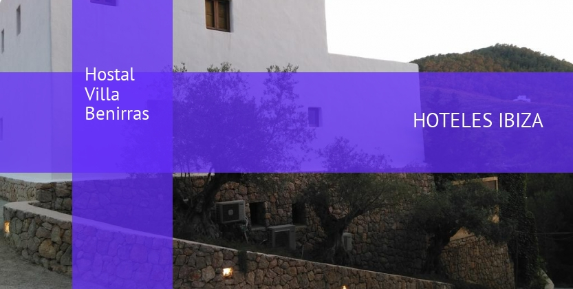 Hostal Villa Benirras reservas