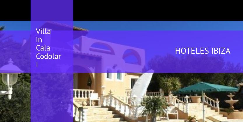 Villa in Cala Codolar I reverva