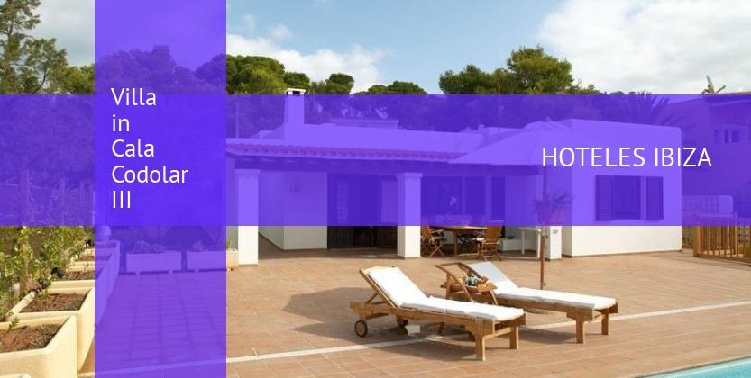 Villa in Cala Codolar III reservas