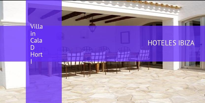 Villa in Cala D Hort I barato