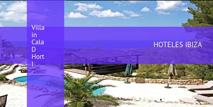 Villa Villa in Cala D Hort I