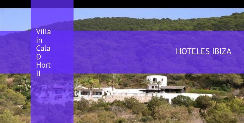 Villa in Cala D Hort II reverva