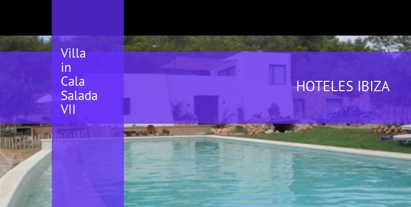 Villa in Cala Salada VII reverva