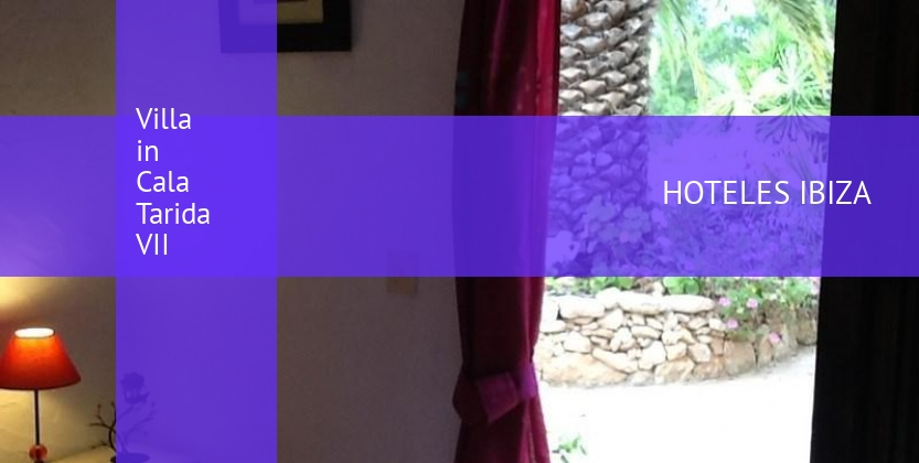 Villa in Cala Tarida VII booking