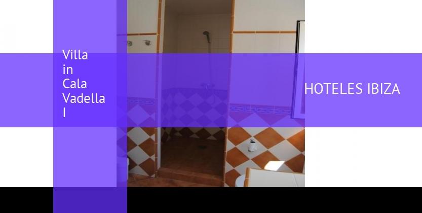 Villa in Cala Vadella I booking
